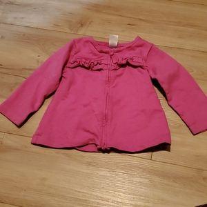 🏷3 forv$10 Girls 18 month zip up sweater